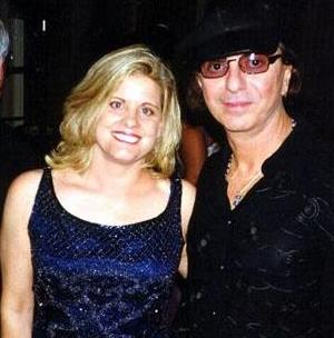Del Shannon's daughter Jody Westover with Dion
